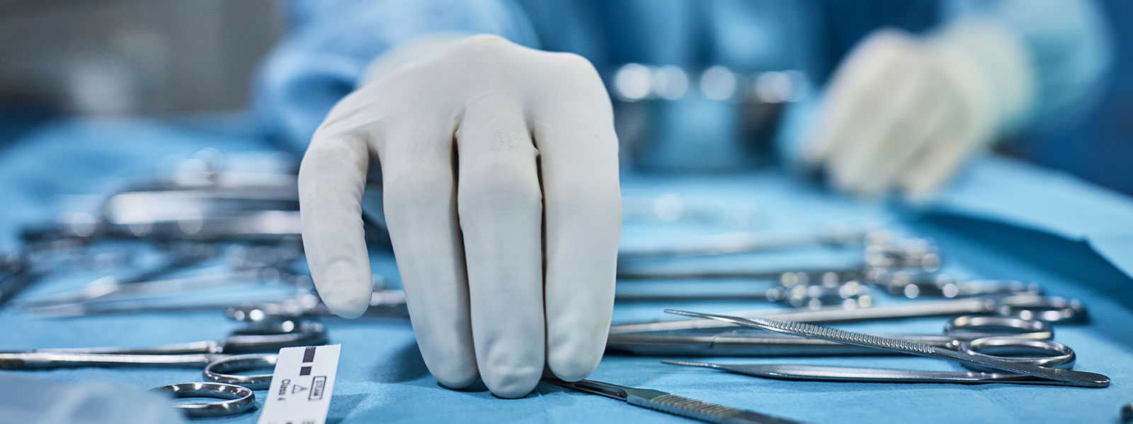 Sterile instruments in Operating Room