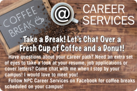 NPC Coffee Break with Career Services
