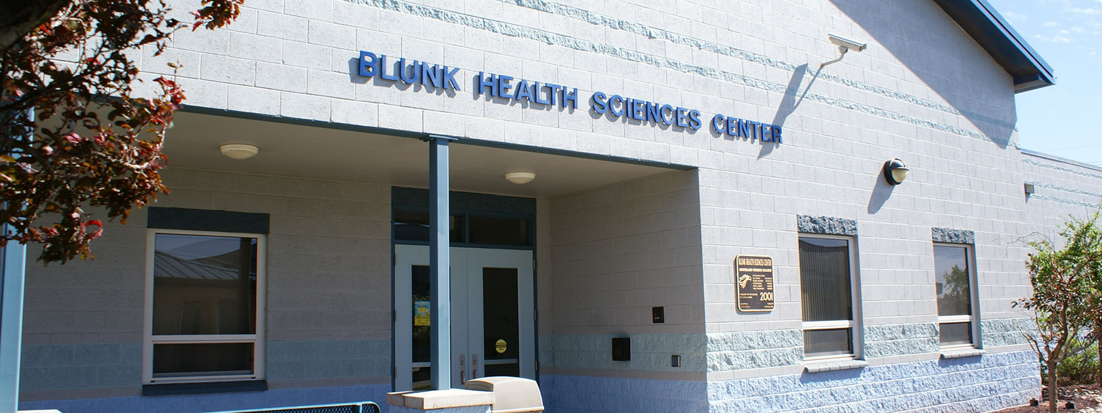 The Blunk Science Center on the Winslow Campus