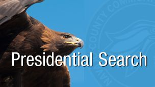 photo of golden eagle with NPC seal