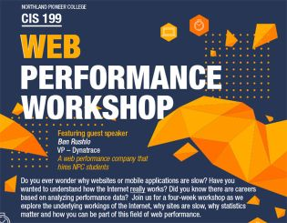 Web Performance Workshop | Northland Pioneer College, Arizona