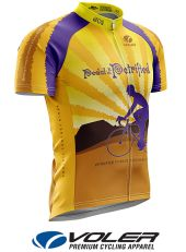 Pedal the Petrified jersey made by Voler