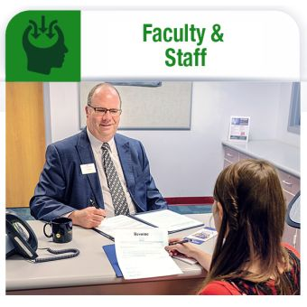 Career Services for faculty and staff