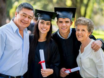 parents with graduates