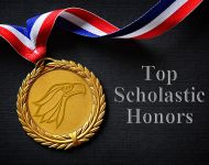 Medalion award for top scholars